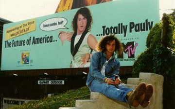 Pauly Shore - Totally Pauly - MTV show promo pic - 1990 - #060490