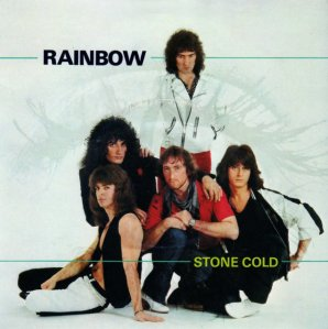 Rainbow - Stone Cold - promo 45rpm cover sleeve - 1982 - #33993388