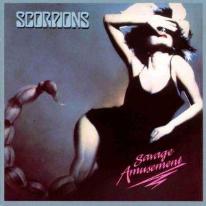 Scorpions - Savage Amusement - promo album cover pic - 1988 - #060488SKMMOS