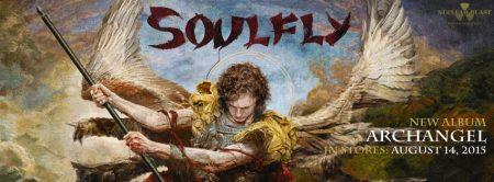 Soulfly - Archangel - promo album banner pic - 2015 - #0609MOSLNFAE