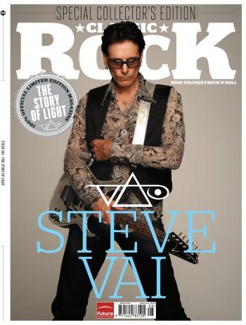 Steve Vai - Classic Rock - promo cover pic - June 25 - 2012 - #06MO