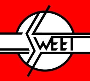 Sweet - classic band logo - #003033MOILMNASM