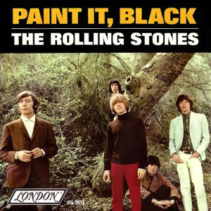 The Rolling Stones - Paint It Black - 45rpm - promo cover sleeve - 1966 - #010611MOTRSMJLI