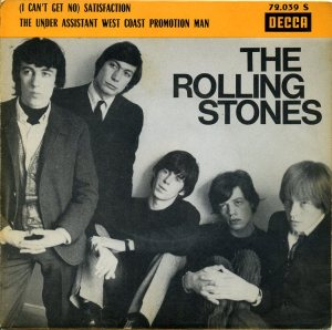 The Rolling Stones - Satisfaction - promo 45rpm - cover sleeve - 1965 - #3303306