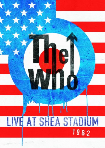 The Who - Live At Shea Stadium - 1982 - promo DVD cover pic - 2015 - #101382SLNAG