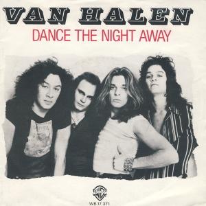Van Halen - Dance The Night Away - promo 45rpm cover sleeve - 1979 - #0612VHDLRMOSW