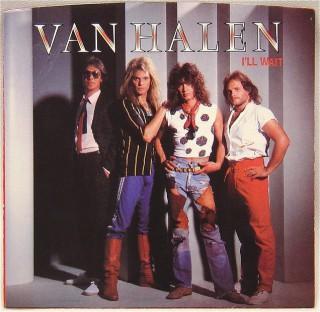 Van Halen - Ill Wait - promo 45rpm cover sleeve - 1984 - #0602MODLR