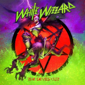 White Wizzard - The Devils Cut - promo album cover pic - 2013 - #MOWWWW00603