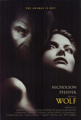 Wolf - promo movie poster pic - #1993MONB - Jack Nicholson