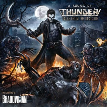 A Sound Of Thunder - Tales From The Deadside - promo album cover pic - 2015 - #MMBSS04