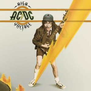 ACDC - High Voltage - promo album cover pic - #33331114NBSMS