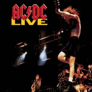 ACDC - Live - promo album cover pic - #03031407MNBMSS