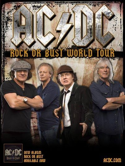 AC:DC - Rock Or Bust - World Tour - promo flyer - 2015 - #0733MOMNMSS