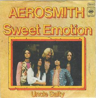 Aerosmith - Sweet Emotion - 45rpm cover sleeve promo - #1975AMMSLBOT336