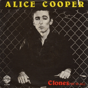 Alice Cooper - Clones Were All - promo 45rpm cover sleeve pic - 1980 #MO070580NMSSLEO
