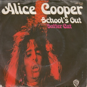 Alice Cooper - School's Out - promo 45rpm cover sleeve - #1972MICMASICS04