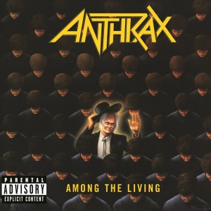 Anthrax - Among The Living - promo album cover pic - #330719MMSTOLB