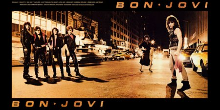 Bon Jovi - debut album - cover spread promo - 1984 - #69MO9633LGG