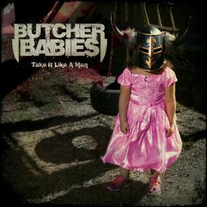 Butcher Babies - Take It Like A Man - promo album cover pic - 2015 - OFRGALOTMS