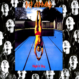 Def Leppard - High N Dry - promo album cover pic - 1981 - #071181NMSSF