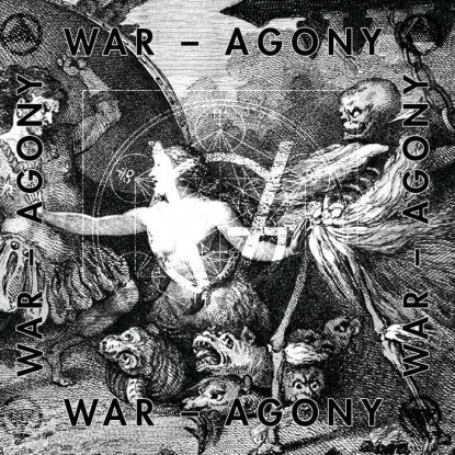 Grim Vision - 7 inch promo cover - War Agony - 2015 - #MMMBSAS2404