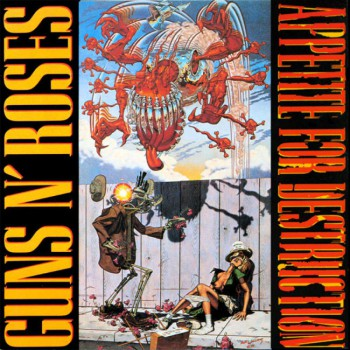 Guns N Roses - Apetite For Destruction - promo album cover pic - #331411SMMNS4
