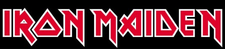 Iron Maiden - Classic Band Logo - RWB - #33MMGMSAS31