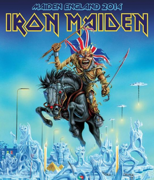 Iron Maiden - Maiden England - tour promo flyer - 2014 - #6933GALF