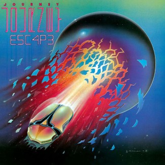 Journey - Escape - promo album cover pic - 1981 - #MMSAMNS0801