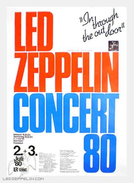 Led Zeppelin - Mannheim - Concert flyer - promo pic - 2015 - #monasagfwtao