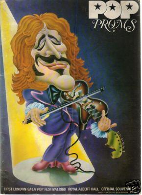 Pop Proms - Royal Albert Hall - 1969 - Souvenir Book - June 29 to July 5 - #MO070569NMSSLEO