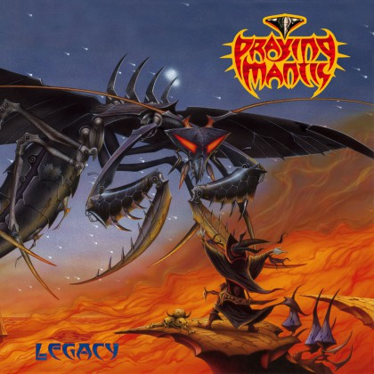 Praying Mantis - Legacy - promo album cover pic - 2015 - #33MONMSSLB334