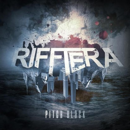Rifftera - Pitch Black - promo album cover pic - 2015 - #330024SMMBSTO