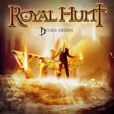 Royal Hunt - Devils Dozen - promo album cover pic - 2015 - #33033GLLEOFMSWL33OT