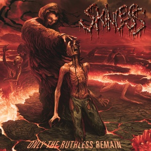 Skinless - Only The Ruthless Remain - promo album cover pic - 2015 - #MO7733