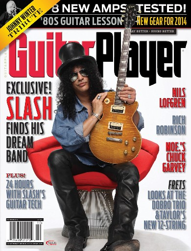 SLASH - Guitar Player - Magazine Cover Feature - 2014 - #MMBSSTO