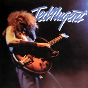 Ted Nugent - Debut Album Promo Cover Pic - 1975 - #MILMOMBS