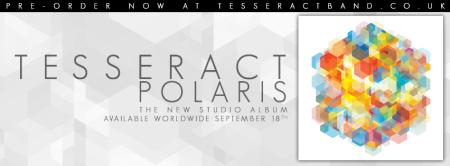 Tesseract - Polaris - promo studio album banner - 2015 - #33MOMNSM