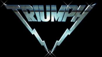 Triumph - classic band logo - #33033MONBB