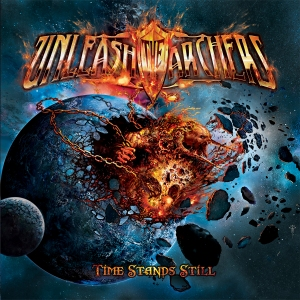 Unleash The Archers - Time Stands Still - promo album cover pic - 2015 - #333ILMMSM