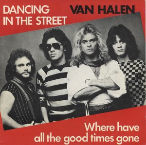 Van Halen - Dancing In The Street - 45rpm cover sleeve - promo pic - #33033MONLSWLTG