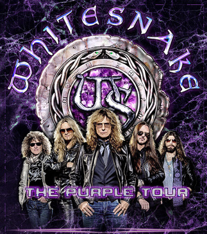 Whitesnake - The Purple Tour - 2015 - promo flyer - #33DCMOSMMS