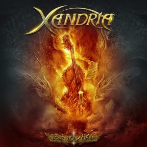 Xandria - Fire And Ashes - promo album cover pic - 2015 - #MMGMSAS3133