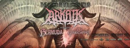 ARKAIK - The Lucid Revolution Tour - promo banner pic - 2015 - Sept - Nov - #003956MO1