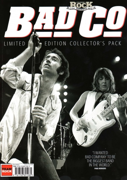 Bad Company - Classic Rock Magazine - Collectors Pack - 2014 - #33MMSAMBS9939OT