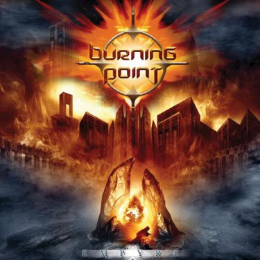 Burning Point Empyre - promo album cover pic - 2015 - AFM Records - #003048