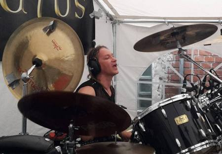 Coronatus - Mats Kurth - drummer - promo pic - 2015 - #33939MMMSSF