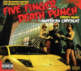 Five Finger Death Punch - American Capitalist - promo album cover pic - 2015 - #GMMMSAS330803