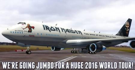 Iron Maiden Boeing 747-400 jumbo jet - publicity pic - Aug - 2015 - #mmmssto4eae