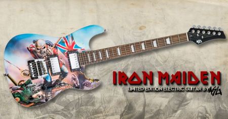 Iron Maiden - Limited Edition Electric Guitar - ASG - 2015 - promo photo - #99330